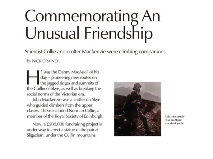 first page news MacKenzie